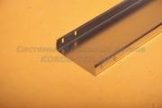 Лоток неперфорированный замковый 200Х60 - ЛНЗ 200 из нержавеющего металла