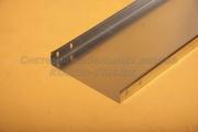 Лоток неперфорированный замковый 300Х60 - ЛНЗ 300 из нержавеющей стали