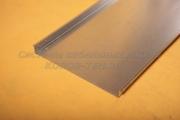 Лоток неперфорированный замковый 600Х65 - ЛНЗ 600 из нержавеющей стали