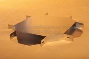Крышка крестообразного разветвителя простого 400