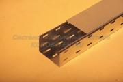 Крышка лотка для кабеля замкового перфорированного с основанием 150 ММ