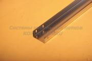 Лоток неперфорированный замковый 100Х50 - ЛНЗ 100 из оцинковки для кабеля