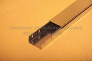 Крышка ЛНЗ 100 из оцинковки для кабеля - лотка замкового с основанием 100 ММ