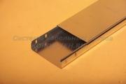 Крышка ЛНЗ 200 из нержавеющего металла - лотка замкового с основанием 200 ММ