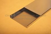 Крышка ЛНЗ 400 из оцинковки для прокладки кабеля - лотка замкового с основанием