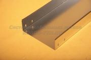 Короб из оцинкованного металла неперфорированный замковый 400Х100
