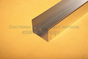 Короб стальной неперфорированный замковый 200Х150