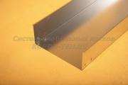 Короб для прокладки кабеля неперфорированный замковый 400Х150