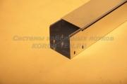 Крышка металлического короба замкового с основанием 150 ММ