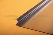 Крышка ЛНЗ 400 из оцинкованной стали - лотка замкового с основанием 400 ММ