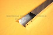Крышка металлического лотка для кабеля простого с основанием 100 мм