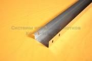 Лоток для кабеля металлический неперфорированный простой 100Х60