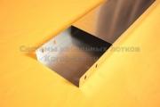 Крышка лотка для прокладки кабеля из оцинковки простого с основанием 250 мм