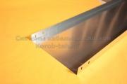 Металлический лоток для прокладки кабеля неперфорированный простой 500Х60